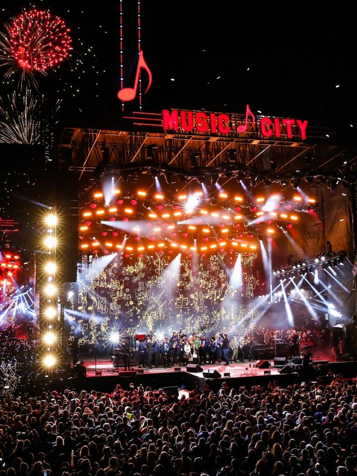 Jack Daniel's Music City Midnight: New Year's Eve in