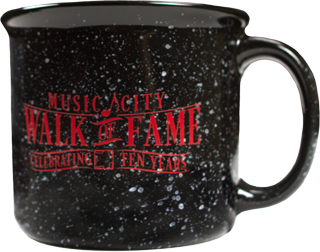Music City Walk of Fame Mug